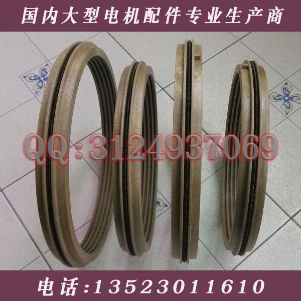 供应用于湘潭电机的FH125PI浮动式电机迷宫油封125*155*26端盖式球面滑动轴承用密封环