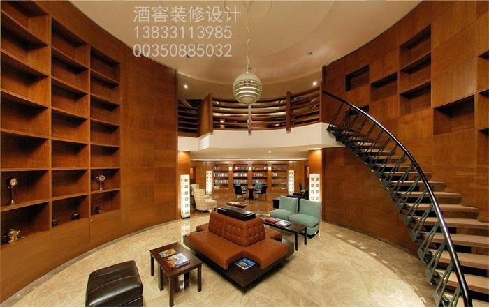 酒庄装饰设计艺术篇     石家庄酒窖装修设计公司提供会所酒窖装饰