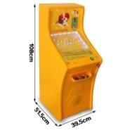 晋城投硬币出琉璃珠弹珠机游戏机图片