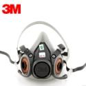供应3M6200防毒面具/半面罩 双滤盒
