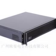 厂家直销2U高档铝面板服务器机箱图片