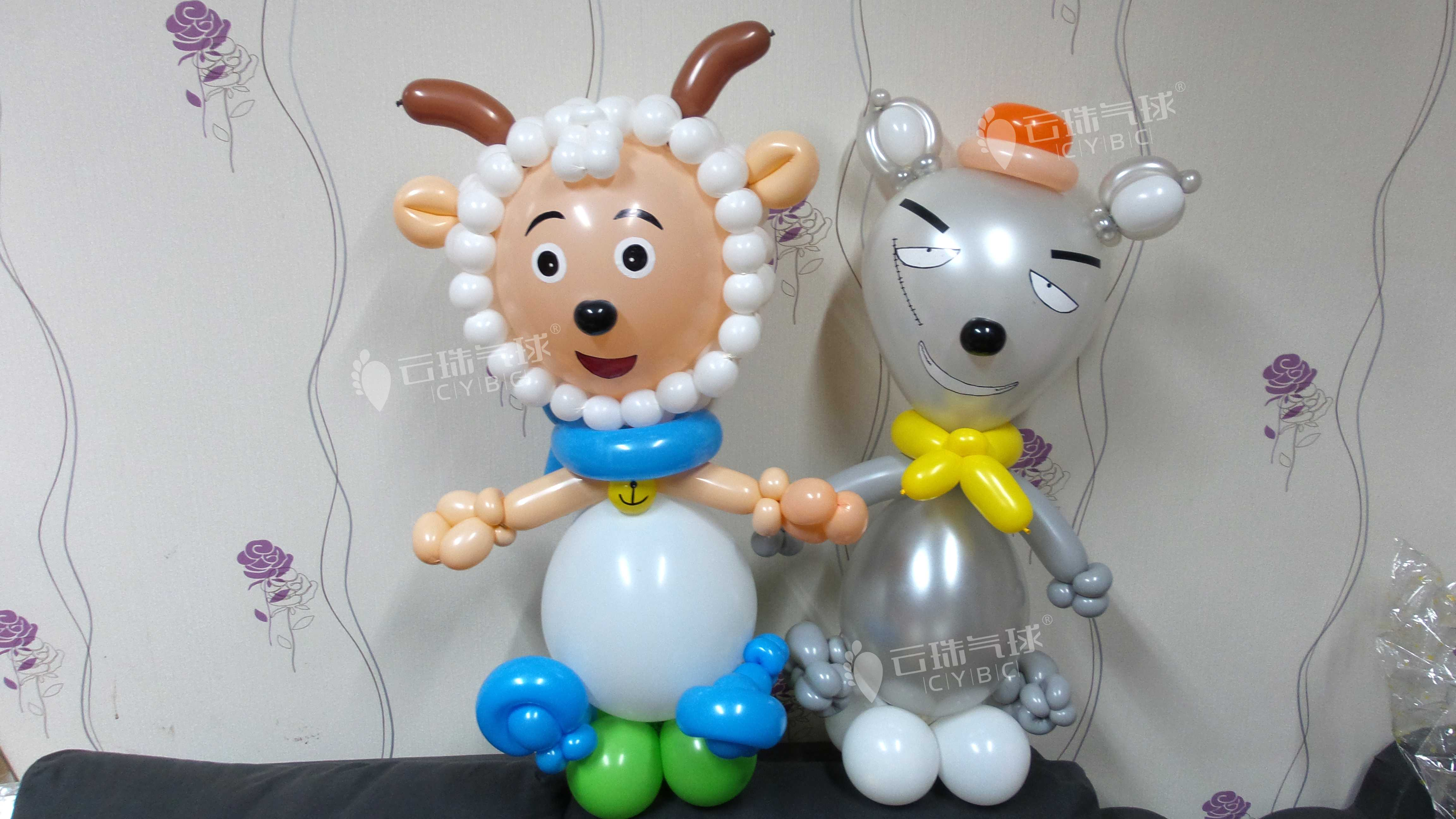 卡通气球造型/魔术气球编织批发