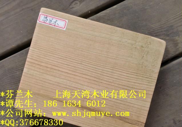 供应用于户外板材的防腐木芬兰木