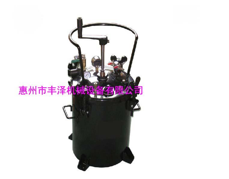 供应厂家直销40升手动压力桶手动带搅拌压力桶