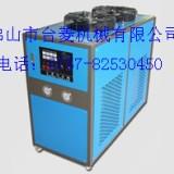 供应佛山大良工业型冷水机厂家 电源部分是通过接触器,对压缩机、风扇、水泵等供应电源。