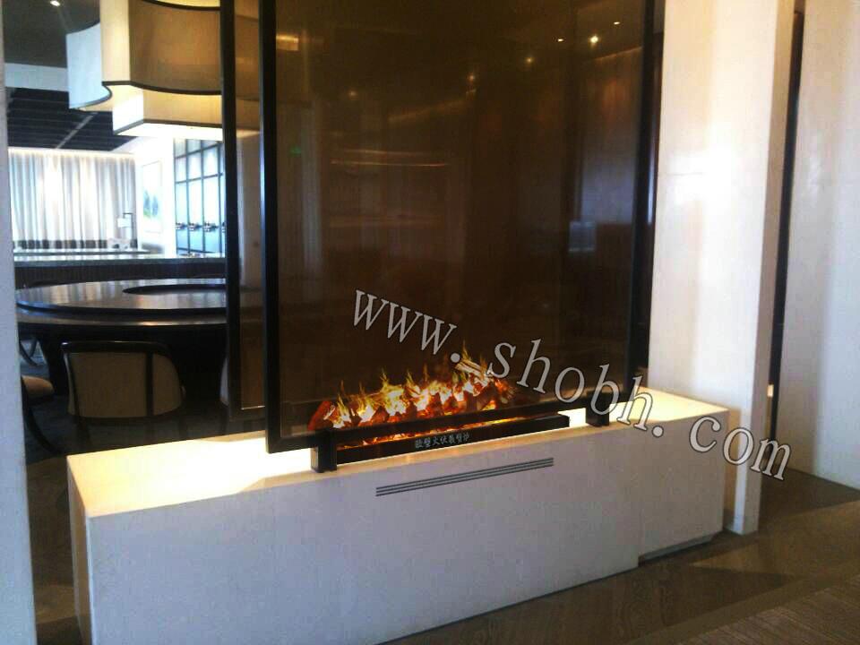 供应用于观赏|采暖|装饰的汉庭酒店3D壁炉篝火