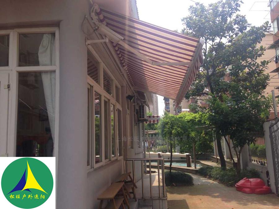 防水遮阳棚雨棚伸缩蓬欧式西瓜蓬法式蓬梯形固定蓬阳台雨棚