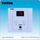 深圳对讲厂家供应SunRing病房电视伴音系统TS-A1音量显示病房电视背景声音接收器