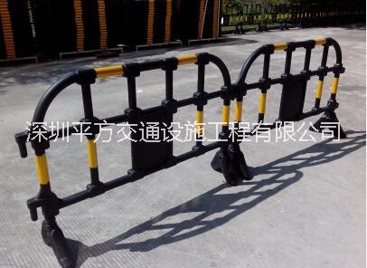 供应深圳塑料护栏厂家 1.5米塑料护栏