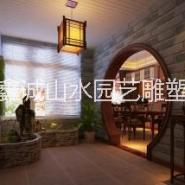 供应用于入户室内装饰的上海浦东入户室内假山制作价格