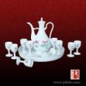 11头骨瓷陶瓷酒具套装礼品图片