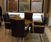 供应美容院洽谈区桌椅沙发/专业定制