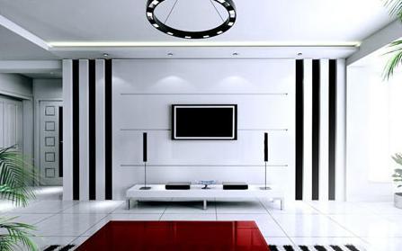 供应家居房屋客厅装饰装修效果图吊顶图片