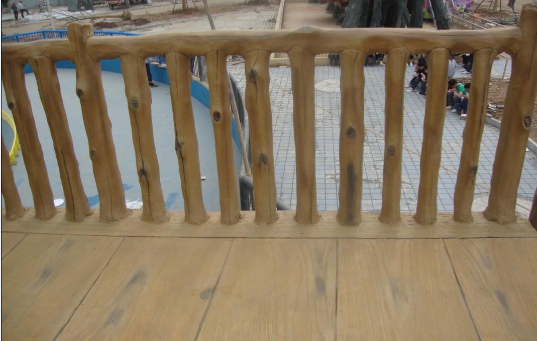 宝鸡专业制作仿木栏杆批发