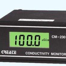 供应电导仪器 原电导率仪CM230(新款CCT-3320V)液晶显示含探头在线电导仪表