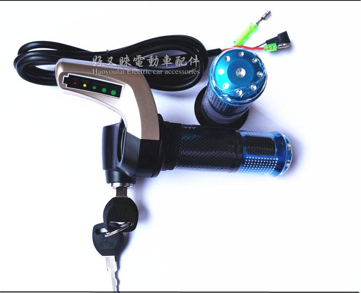 供應用于用于電動車改的電動車調速轉把,油門把手廠家圖片