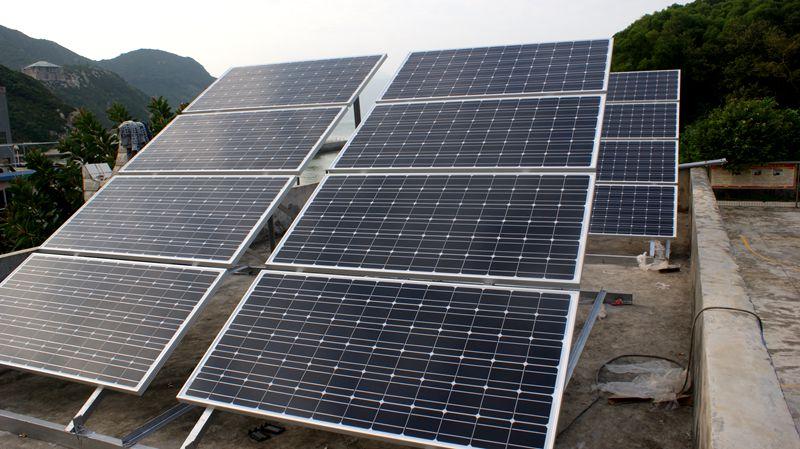 家用屋顶太阳能发电系统价格