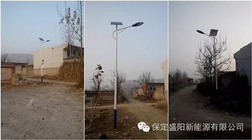 农村太阳能路灯价格
