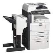 北京理光彩色打印复印机低价出租图片