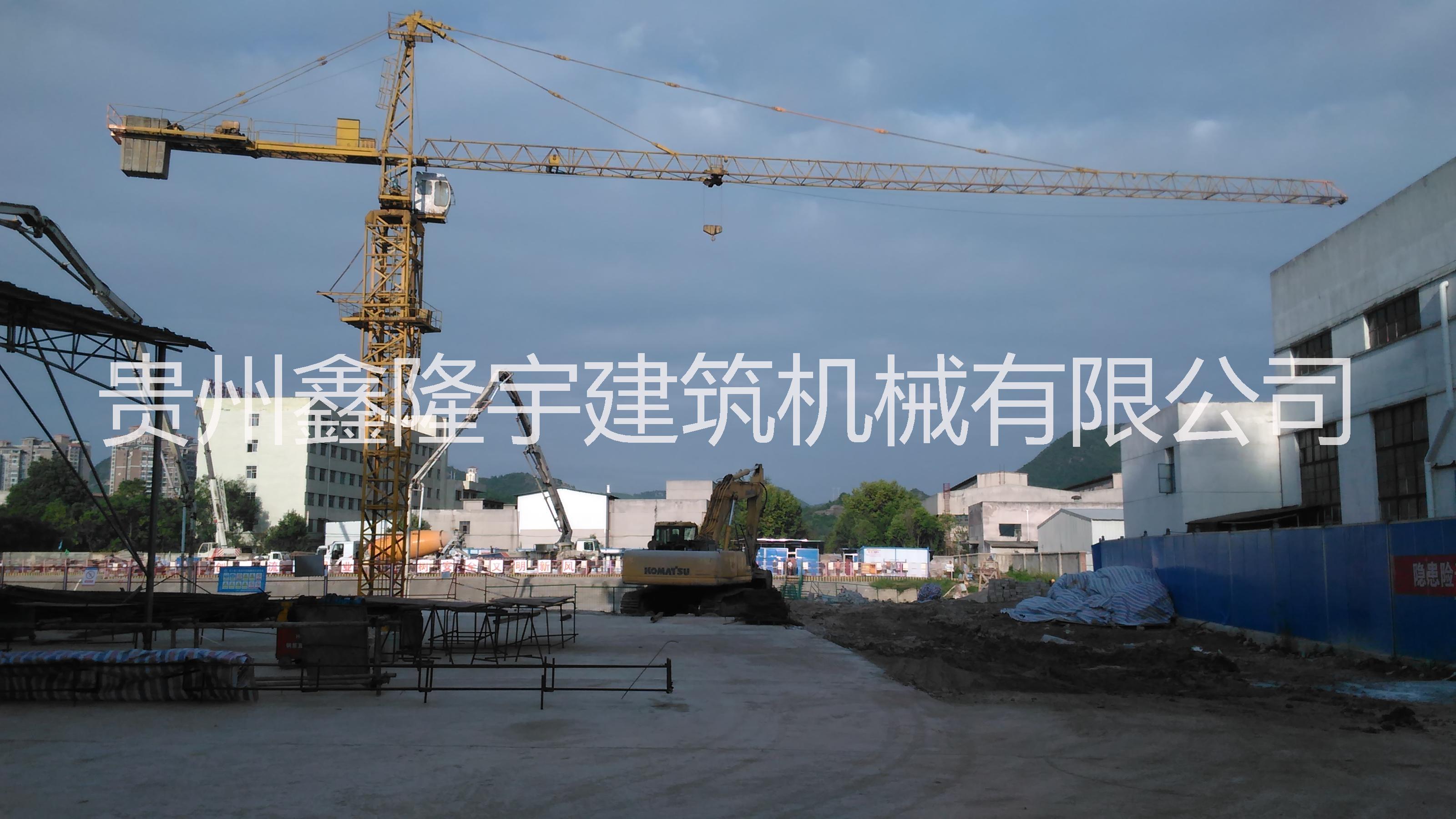 丹寨县塔式起重机租赁qtz6010批发