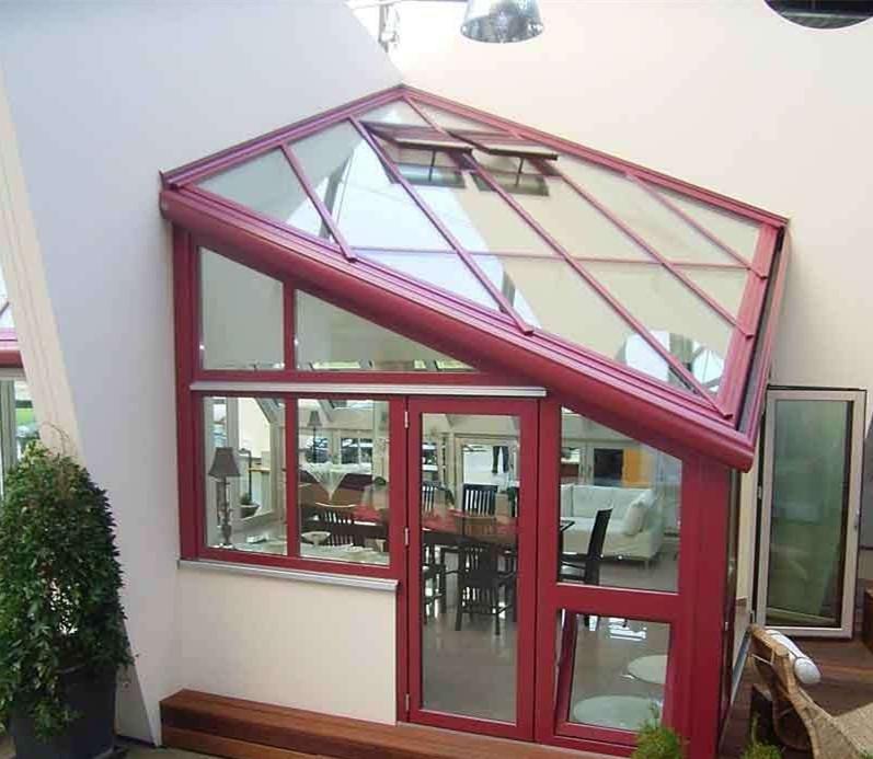 露台楼顶花园阳光房钢化中空玻璃价格