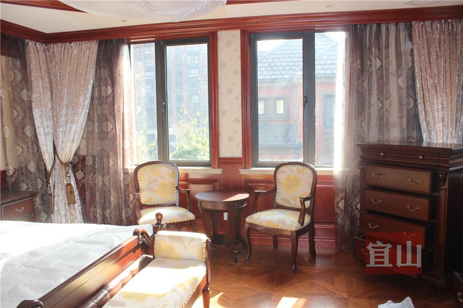 别墅家装宜山原木护墙板欧式樱桃木价格