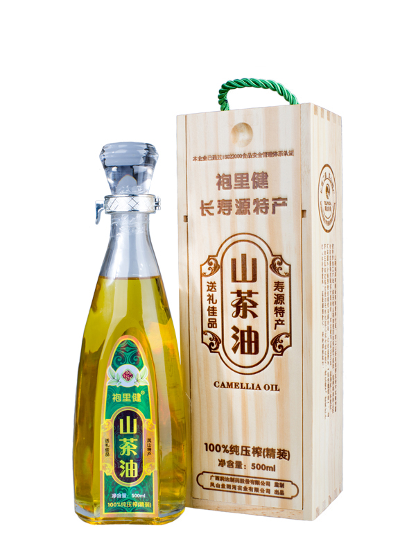 供应用于炒菜的山茶油木盒单瓶装 山茶油批发 山茶油销售