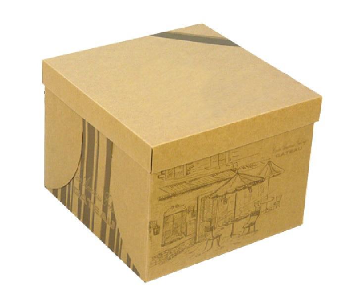 正方形纸盒糖果展开图包装设计