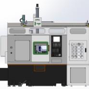 高精密多功能HTP-380数控车图片