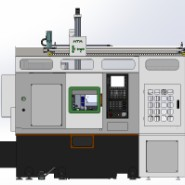 HPT380全功能高精度高刚性数控车床图片