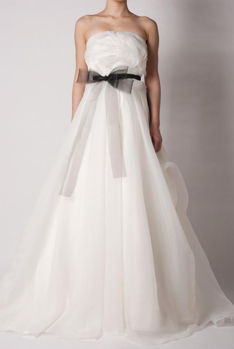 婚纱裙摆设计图