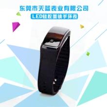 【不带logo】LED优质硅胶墨镜手环表 外贸爆款 硅胶手表批发批发