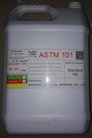 供应ASTM-101/102/103/104/105/106实验用橡塑标准测试油