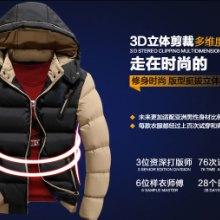 供应2015冬季新款韩版男装棉衣外套批发