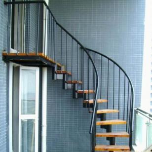 供应青岛轻钢结构楼梯制作安装旋转楼梯|青岛轻钢结构楼梯制作安装