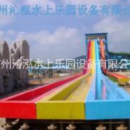 彩虹滑梯图片
