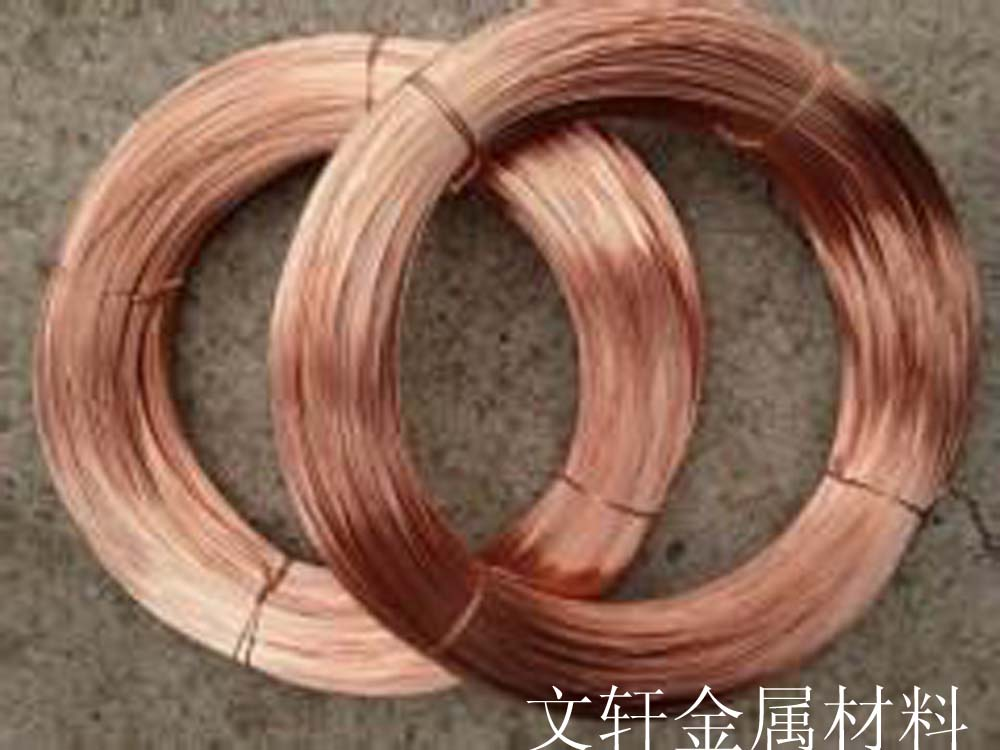 供应用于铆钉、电缆的T2红铜线环保红铜线厂家