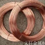 供应用于铆钉|弹簧|插头的上海红铜线厂家 铆钉专用红铜线直销 弹簧专用磷铜线加工