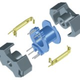 供应用于变压器|开关电源|的RM12/I-3F3-A160磁芯