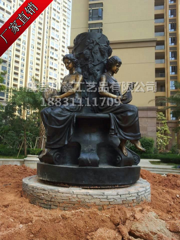 欧式人物雕塑城市园林雕塑批发