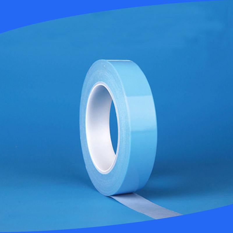 LED导热双面胶带led灯条散热导热蓝色无纺布双面胶带批发
