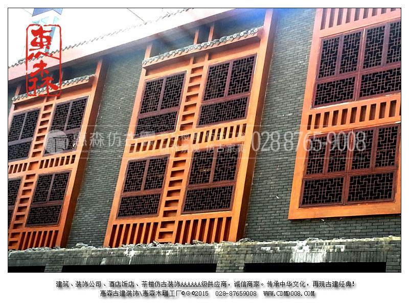 德阳仿古门窗厂 德阳哪里可以定制古建筑仿古门窗 古典仿古门窗