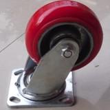 5寸重型韩式铁芯PU万向轮 5寸重型韩式铁芯PU万向轮厂家直销