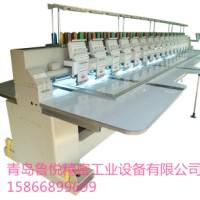 供应用于绣花设备的青岛鲁悦16头工业高效电脑绣花机,青岛16头电脑绣花机厂家,