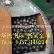 20mm 球磨机立磨机用耐磨钢球图片