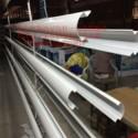 兴平加油站立柱包边铝圆角 R60mm立柱包边铝圆角/生产厂家