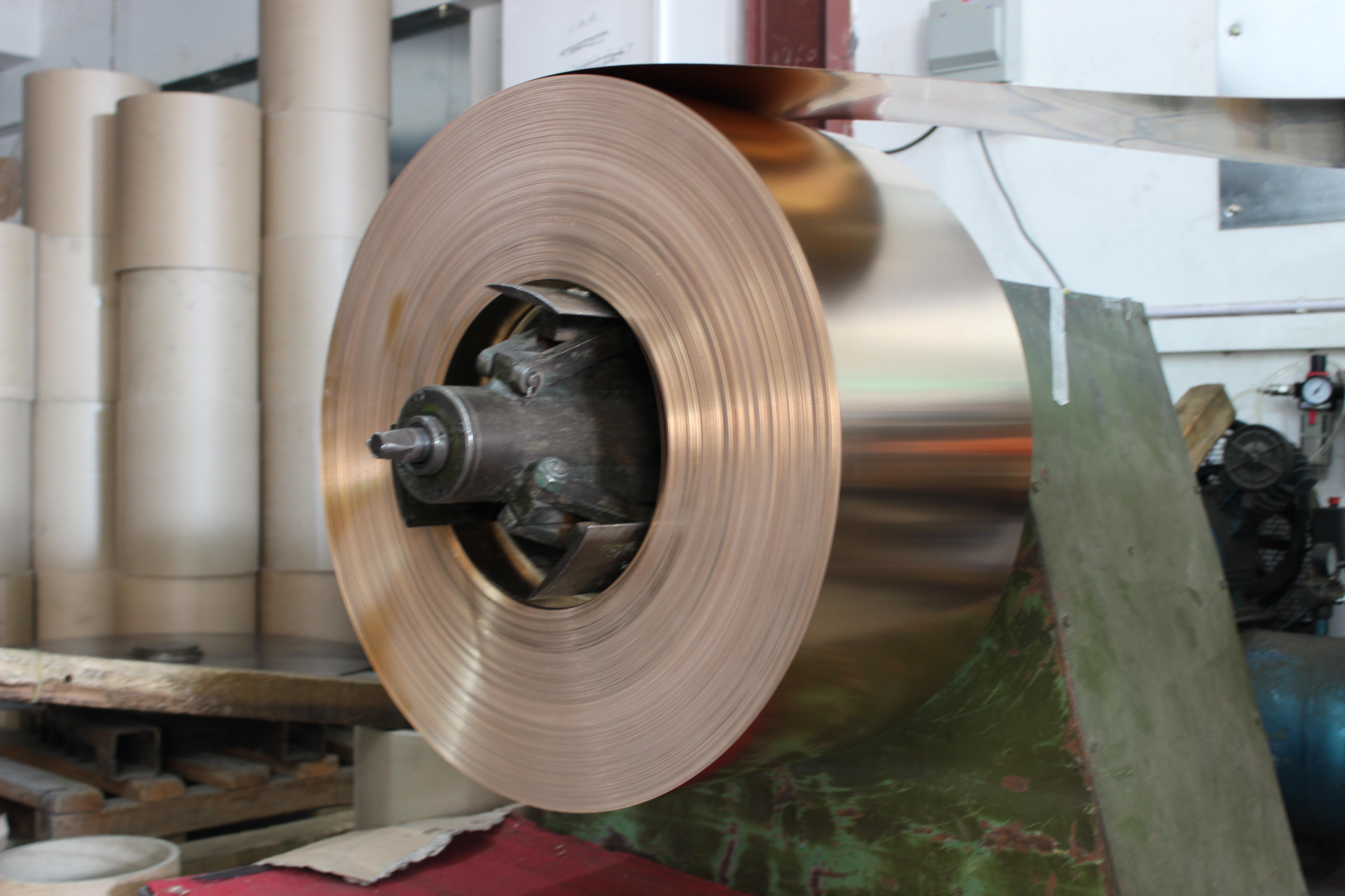 供应用于连接器的东莞磷铜带C5210 H磷铜带