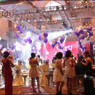 春节年会气球装饰/成都气球装饰图片