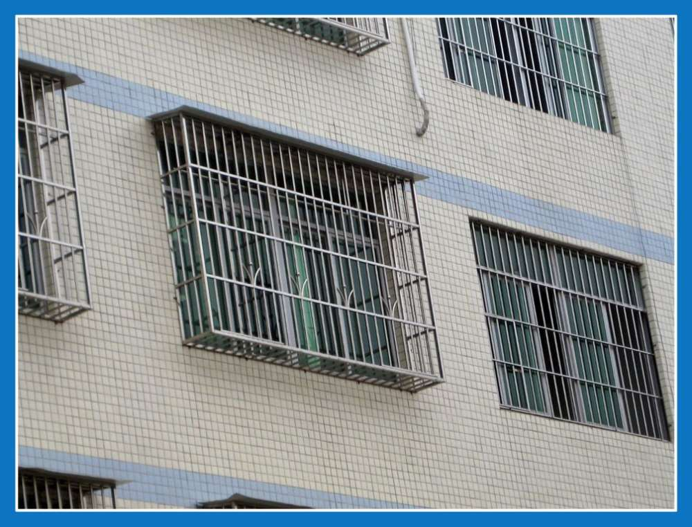 不锈钢防盗网图片|不锈钢防盗网样板图|不锈钢防盗网