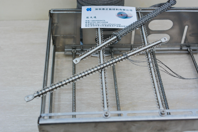 供应100%316L不锈钢纤维金属线,耐高温金属纱线